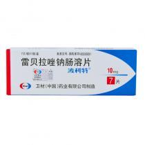 波利特雷貝拉唑鈉腸溶片7片
