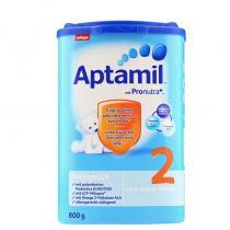 德国爱他美/Aptamil 婴幼儿配方奶粉2段(6-10个月 ) 800g