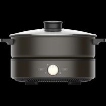 美的MC-DH2601电火锅家用多功能分体式电煮锅火锅锅不粘锅2-4-6人