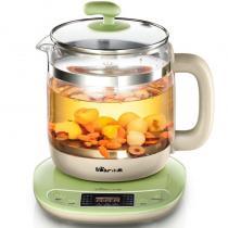 小熊(Bear)1.5L養生壺 迷你玻璃燒水壺電水壺多功能花茶壺煮茶壺YSH-D18D1