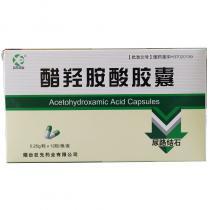 巨先藥業 醋羥胺酸膠囊0.25克*12粒