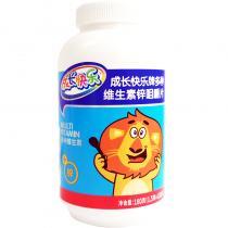 成長快樂牌多種維生素鋅咀嚼片180g(1.5g*120片)